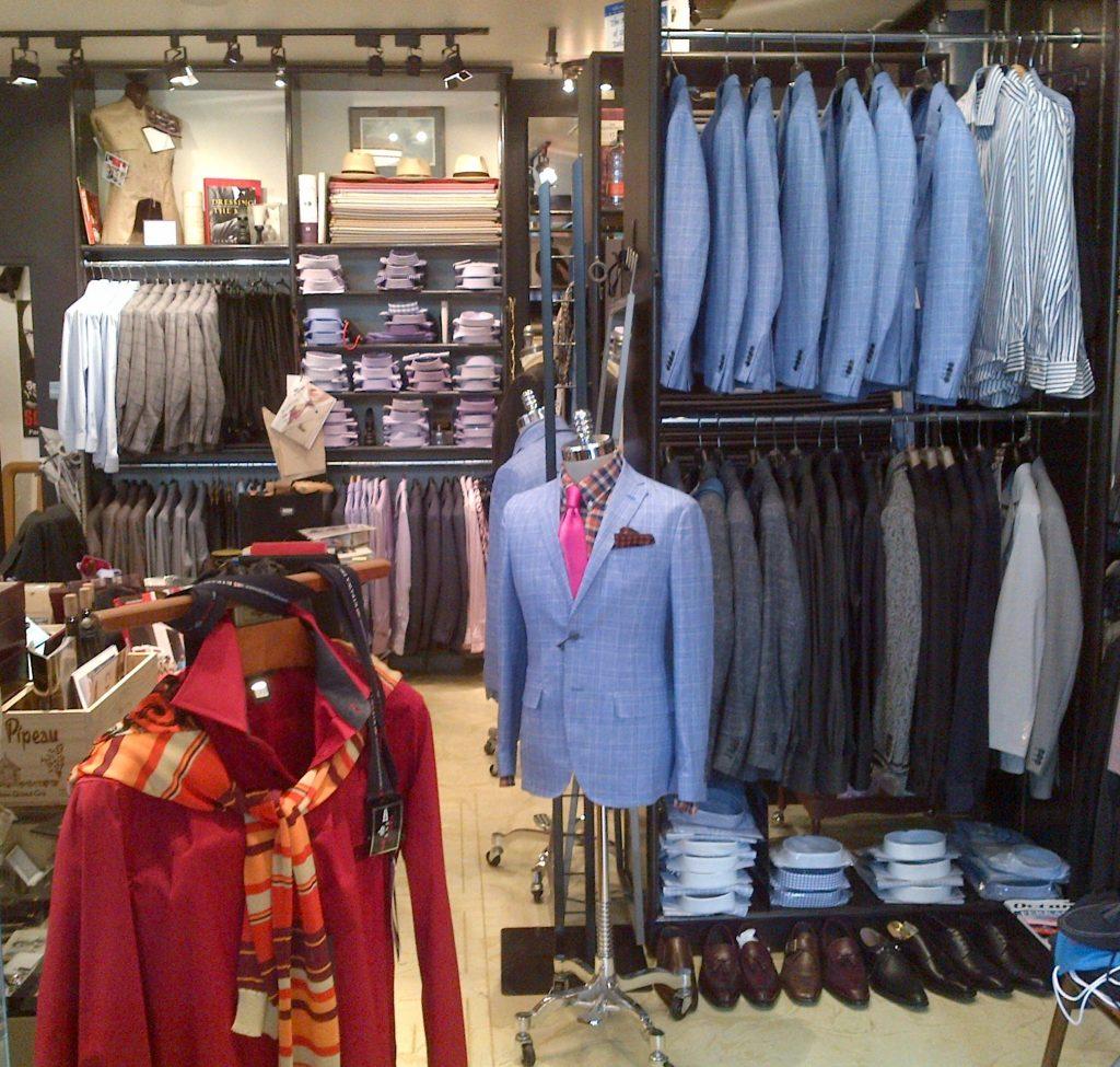 Menswear Luxury Shop Interior Le Firme